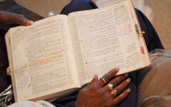 Ex-cons battle overwhelming obstacles, oddsRoxbury native Pamela Henderson holds her favorite Bible — the first one she...