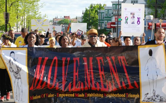Hundreds turned out to participate in the 13th Annual Mothers' Walk for Peace, held Sunday, May 10, 2009,...