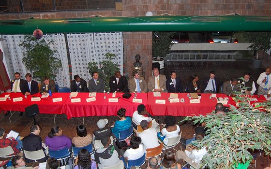 Candidates vying for an at-large seat on Boston's City Council participate in a forum at the Harriet Tubman...