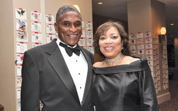 Former U.S. Magistrate Judge Joyce London Alexander and her husband, former Tuskegee,...