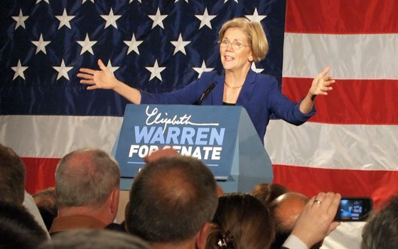Elizabeth Warren was unafraid to talk about her Native American ancestry — and she was...