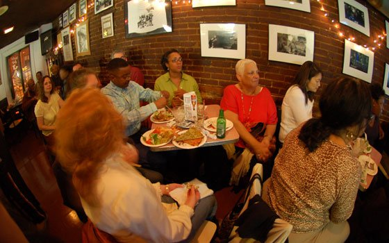 For more than 70 years, jazz greats have jammed at Wally's Black-and-white close-ups line the walls of...