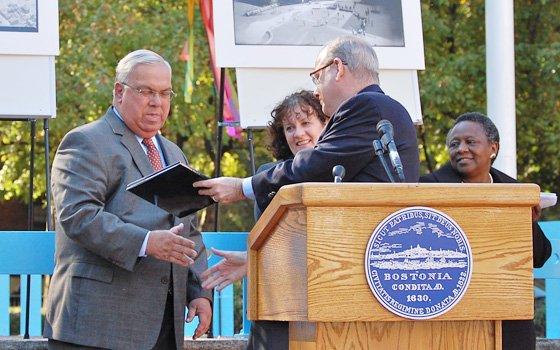 Anniversary focuses on pride, progressThe Boston Housing Authority celebrated its 75th birthday this month and Mayor Thomas...