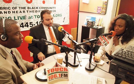 Boston City Councilors Tito Jackson, Felix G. Arroyo and Ayanna Pressley recently appeared on 106.1 FM to encourage people...