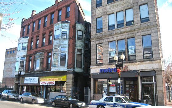 Action will displace Dudley businessesThe Curtis Block and Waterman buildings on Washington Street in Dudley Square will...