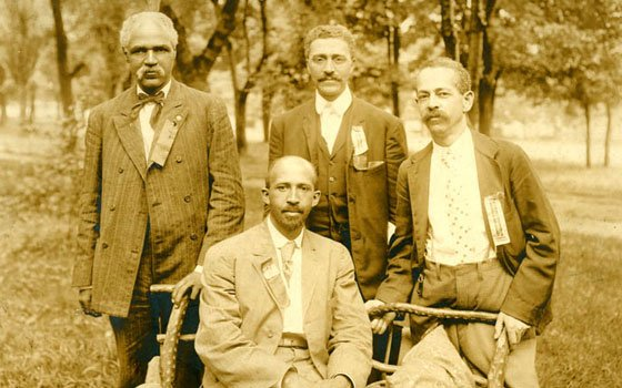 Niagara Movment members J.L. Clifford, L.M. Hershaw, F.H.M. Murray and W.E.B. Du Bois convened in Harper's...