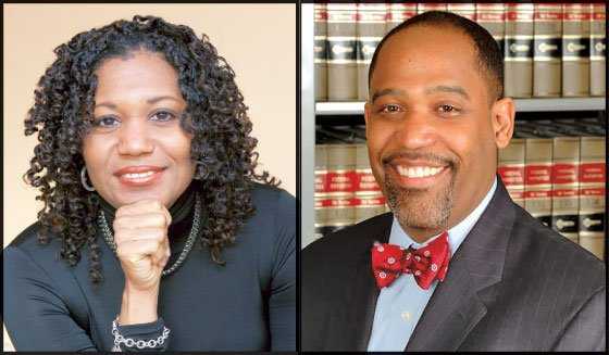 Decorated married academics and Harvard Law School alumni Stephanie Robinson (left) and Ronald S. Sullivan Jr. were chosen...
