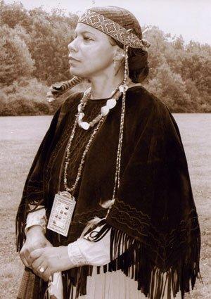 Naticksqw, the hereditary chief or sachem of...