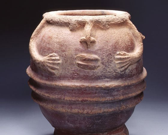 """This Janus head vessel is part of """"Black Womanhood: Images, Icons and Ideologies of the African Body,"""" a..."""