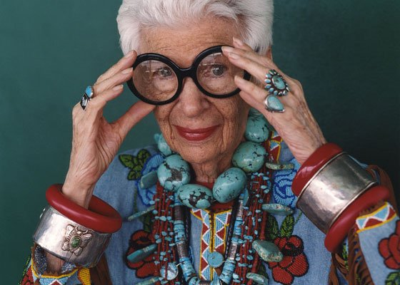 Iris Apfel has been a fashion icon for over 60 years, and now some of her works of...