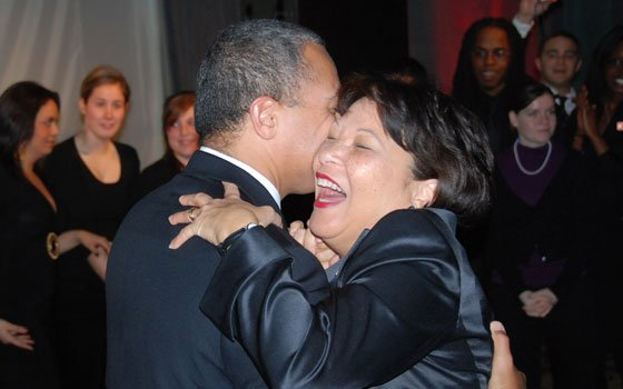 Gov. Deval Patrick and wife Diane Patrick are pictured here dancing at last year's Christmas Gala. (Tony Irving...