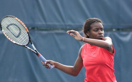 DiAndrea Galloway of Mattapan is one of the juniors who will compete in the $50,000 tournament next week.