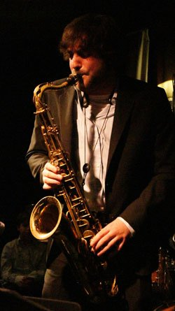 Noah Preminger and his band perform at Scullers Jazz Club....