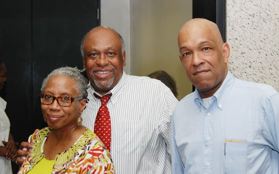 Donna Bivens, Horace Small and Paul Simmons were among the attendees at an event hosted by the Union of...