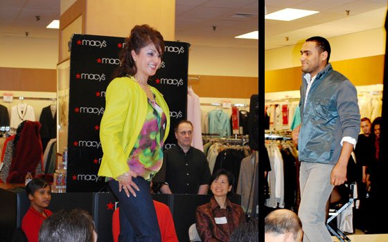 People gathered at the Macy's department store in Downtown Crossing last week to celebrate the first anniversary of...