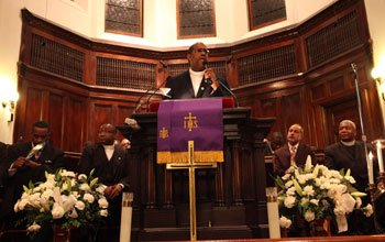 Charles Street pastor Gregory G. Groover Sr. told a crowd that...