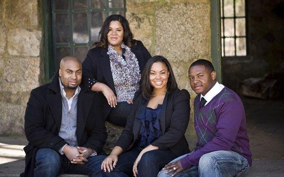 Not gospel, not spiritual, the music of Ashmont Hill Ashmont Hill, a Christian music quartet, can be...
