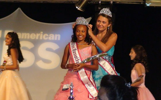 "Kristen Fields, pictured above, will represent Massachusetts as she attempts to add ""National American Miss Pre-Teen Queen"" to..."
