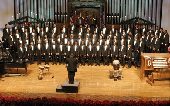 The famed Morehouse College Glee Club will perform Friday night at Old South Church in Boston. (Photo courtesy...