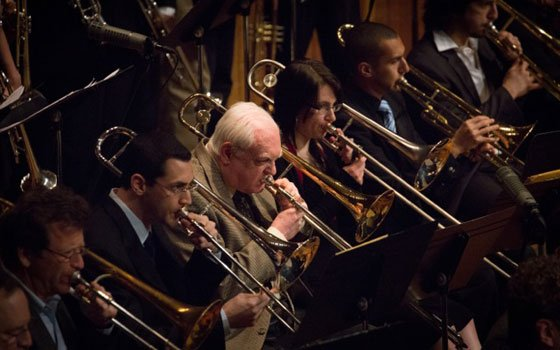 The MIT 2013 Alumni Band performs at the 50th Anniversary Gala and 6th Annual Herb Pomeroy...