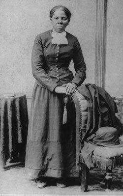Harriet Tubman, above, was one of the figures...