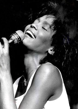 "Whitney Houston was the opening act at the ""Concerts..."