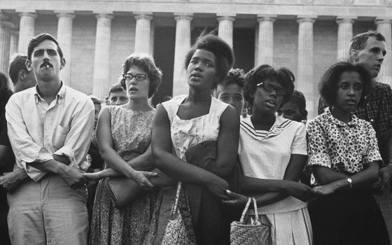 Photo essay features never-before-seen images of historic March on Washington This photo was taken on Aug. 28,...