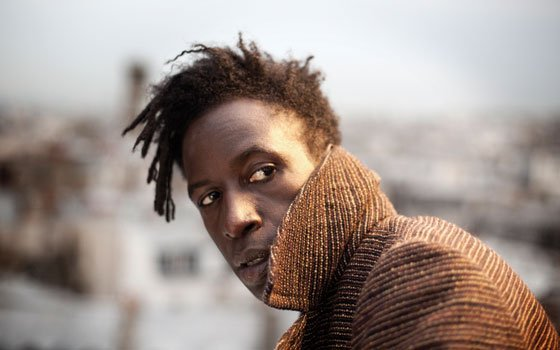 Poet Saul Williams pops his collar for photographer Andrew Gura. (Photo courtesy of Sony Music...