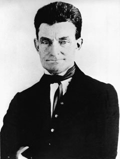 John Brown, leader of the historic raid on the federal arsenal and armory at Harpers Ferry, Virginia, is seen in this 1857 picture. Brown and his followers attempted to end slavery in the United States by armed force. The 19th-century abolitionist who advocated armed violence is drawing a diverse crowd in New York to study how his fight against slavery continues to play in America.