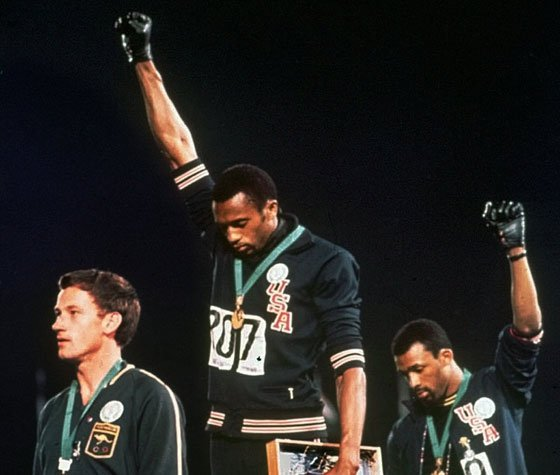 Tommie Smith looks to Obama and beyondIn this Oct. 16, 1968, file photo, extending gloved hands skyward,...