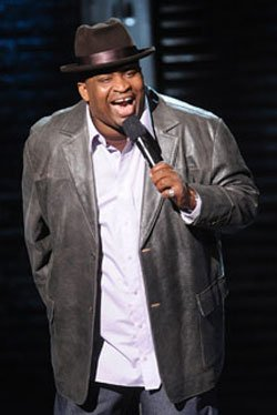 "Patrice O'Neal, 41, performs in his last Comedy Central special ""Elephant in the Room."" He died Nov. 28 from complications of a stroke he suffered in October."