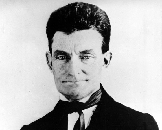 This 1857 file photo shows John Brown, leader of the historic raid on the federal arsenal and armory...