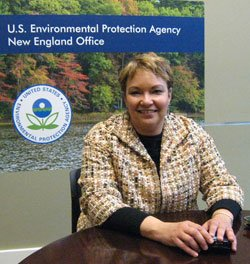 U.S. Environmental Protection Agency Administrator Lisa P. Jackson at the...