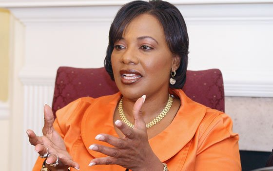 In a Saturday Oct. 18, 2008 file photo, Rev. Bernice King, talks at an interview in Atlanta. The...