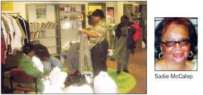 The Sadie T. McCalep Ministry of Hope is collecting donations of clothing, furniture and other...