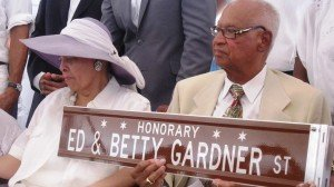 Ed and Betty Gardner, the driving force behind Soft Sheen Products were honored last Thursday...