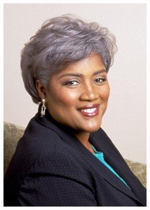 Donna Brazile, American author, academic, and political analyst currently serving as Vice Chairwoman of the...