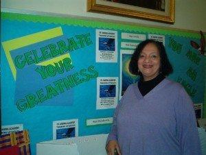 Helen Dumas, Minster of Education/Principal of St. Sabina Academy located in Chicagos Auburn Gresham neighborhood,...