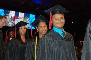 Kenneth Hamilton, 23, walked across UIC Pavilion's (525 S. Racine Ave.) stage May 3, graduating...