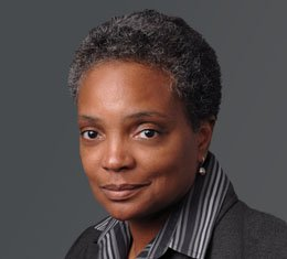 Lori Lightfoot, a partner with the law firm of Mayer Brown, Chicago, could make history...