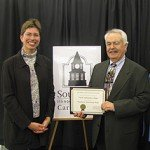 SOUTH HOLLAND, IL South Suburban College was presented with an Illinois State Historical Society Award...