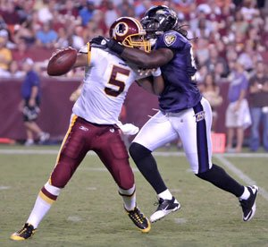 The Washington Redskins faced a better football team this week and went from an offensive...