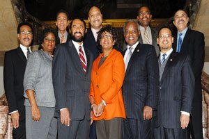 The 10 Black members of the powerful House Finance Committee are still being applauded this...