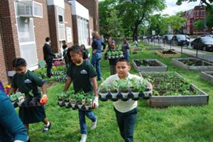 Enthusiasm and education about youth gardening were lessons of the day Wed., May 4 at...