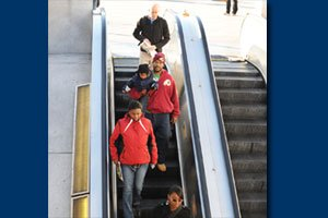 Escalator malfunctions latest in series of mechanical failures....