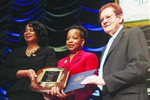 Washington Informer Publisher Denise Rolark Barnes is the 2012 recipient of the Olender Foundation's Generous...