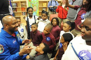 Event Designed to Celebrate the Achievements of African Americans in Space with District Students...
