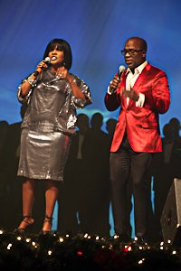 CeCe andBeBe Winans were among performers for the Evangel Christmas Celebration./Photos by Shevry Lassiter for The Washington Informer