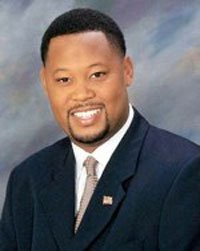 The newest member of the Prince George's County Council, Derrick Leon Davis (D) - District...