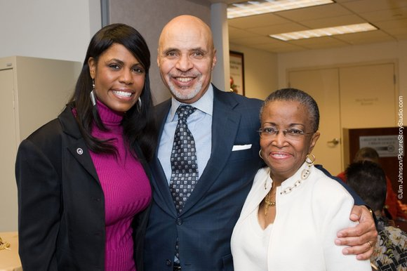 The Greater Washington Urban League Board members gave a surprise reception for Maudine R. Cooper,...